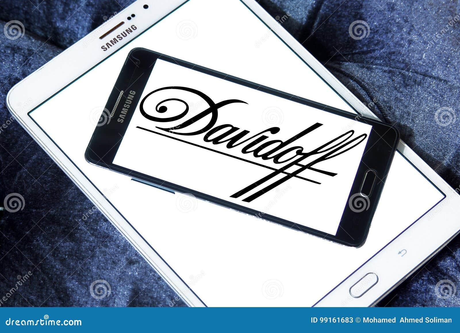 Davidoff Cigarettes Company Logo Editorial Stock Photo