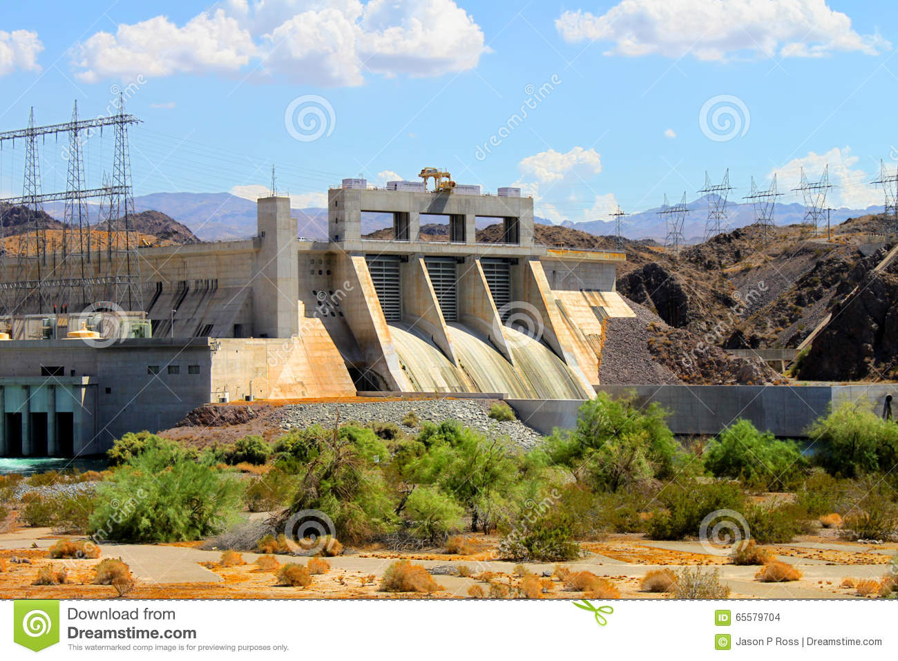 Davis Dam Laughlin Nevada