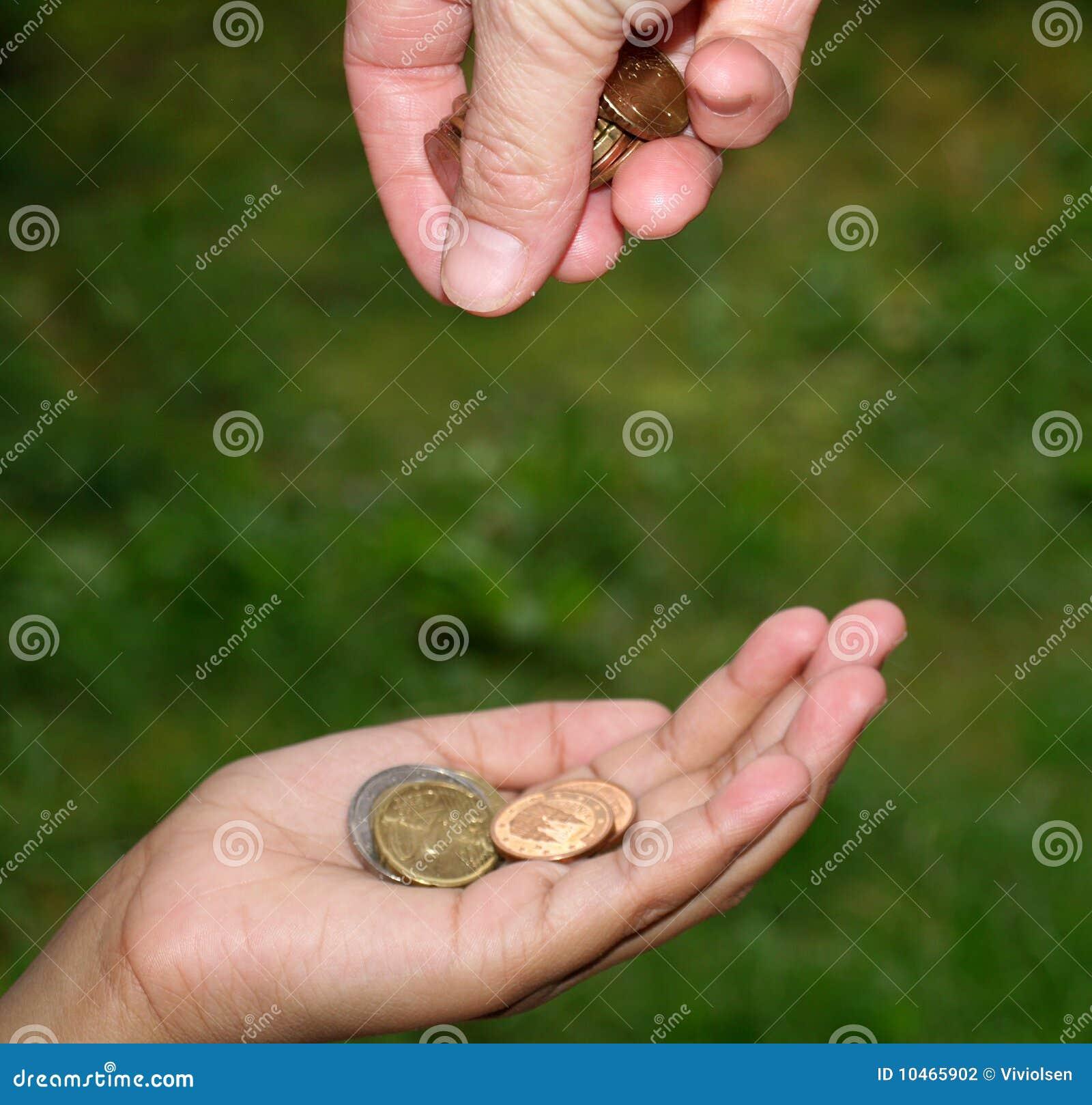 Dawać pieniądze