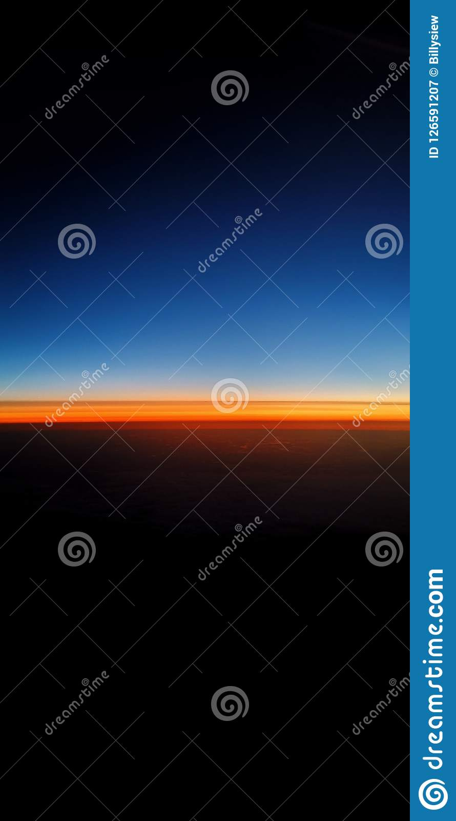 Dawn Stock Image Image Of Nice Orange Dawn Sunrise 126591207
