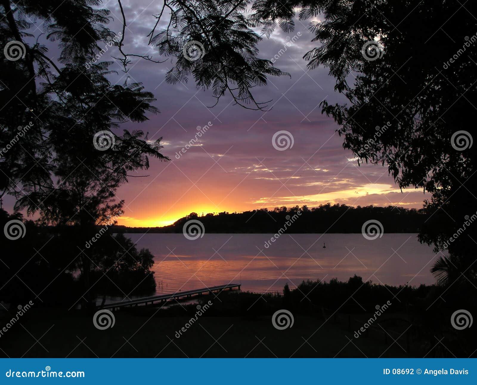 Dawn op de Rivier