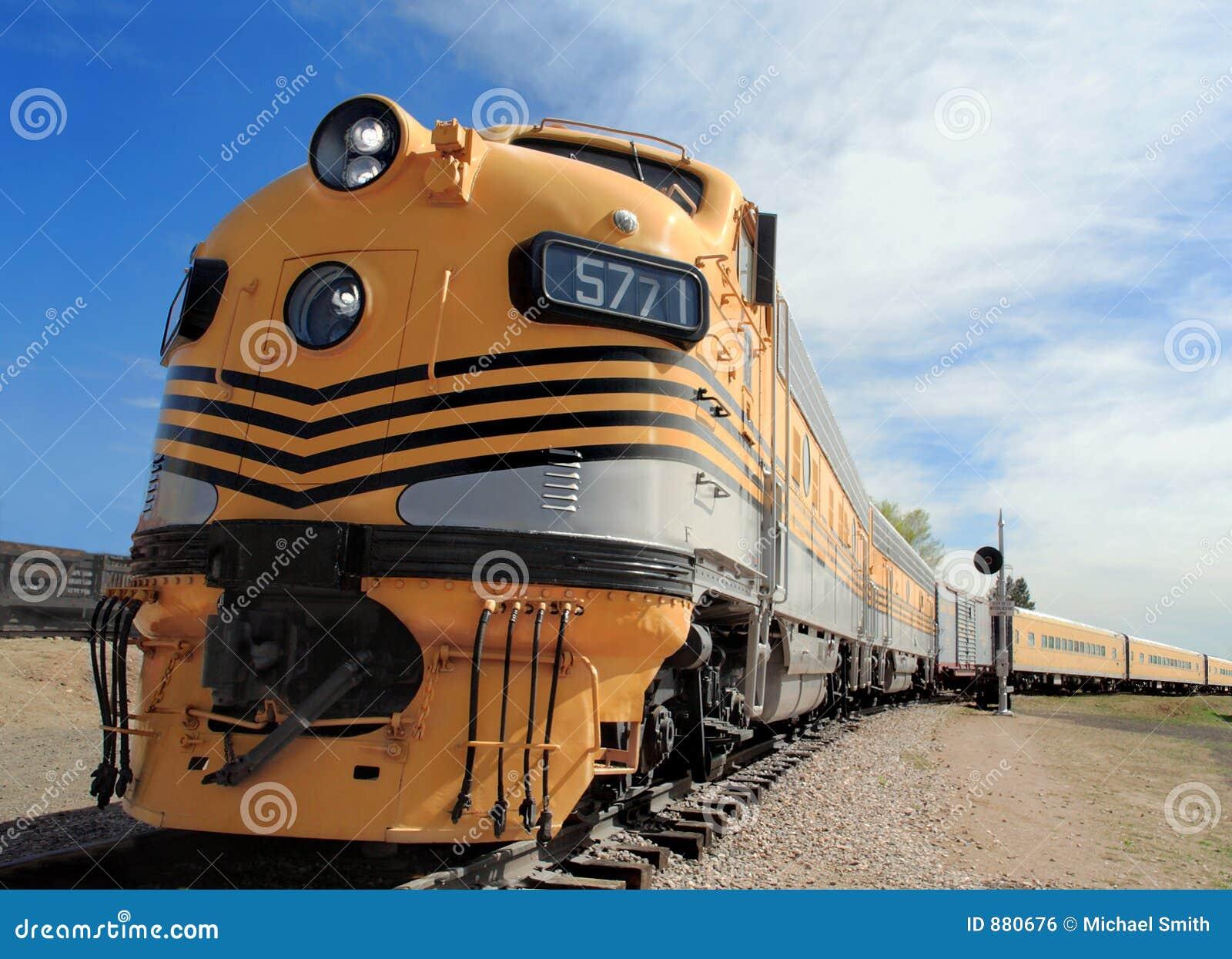 Dawne czasy lokomotywa usprawniająca