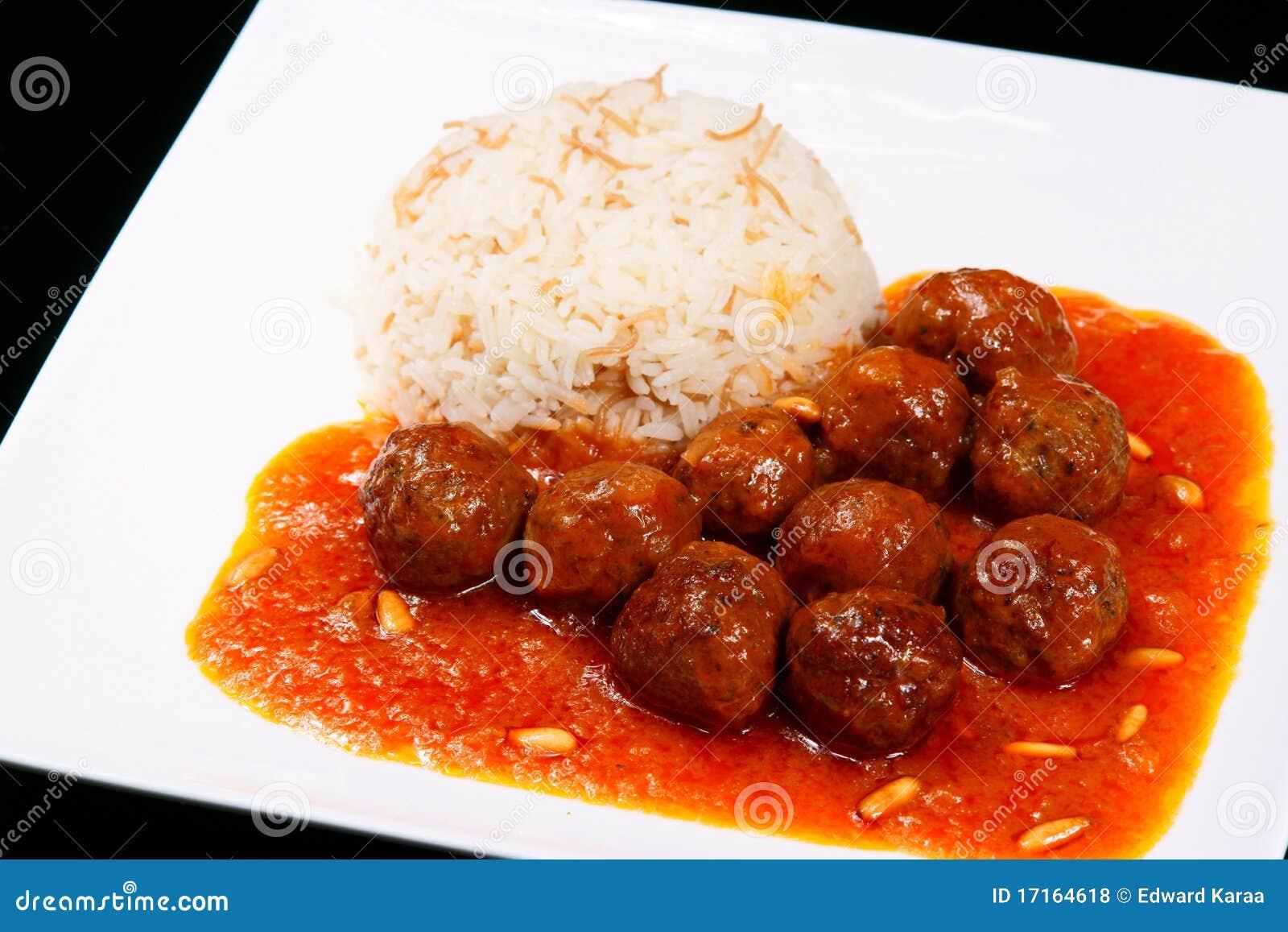 Dawoud Pasha, Lebanese Food. Royalty Free Stock Photos - Image ...