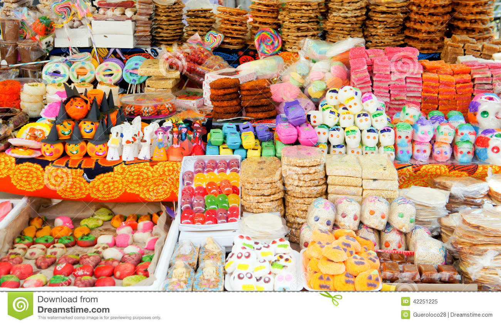 day of the dead dia de los muerto stock image image of colors