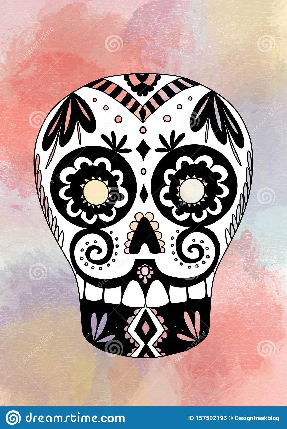 It's just a picture of Day of the Dead Printable Masks within face mask