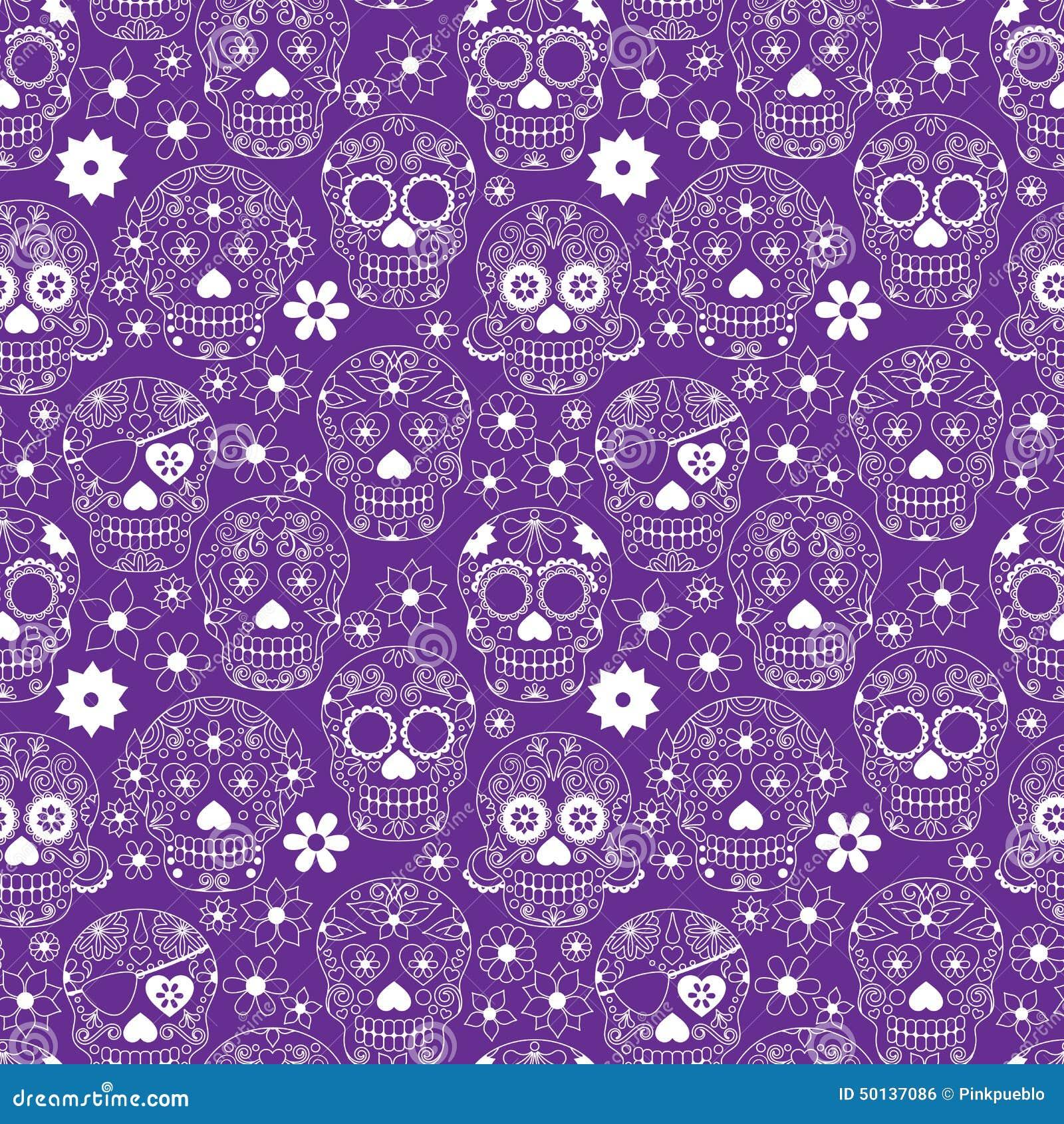 day of the dead sugar skull seamless vector background stock vector image 50137086 sugar skull vector free sugar skull vector art free