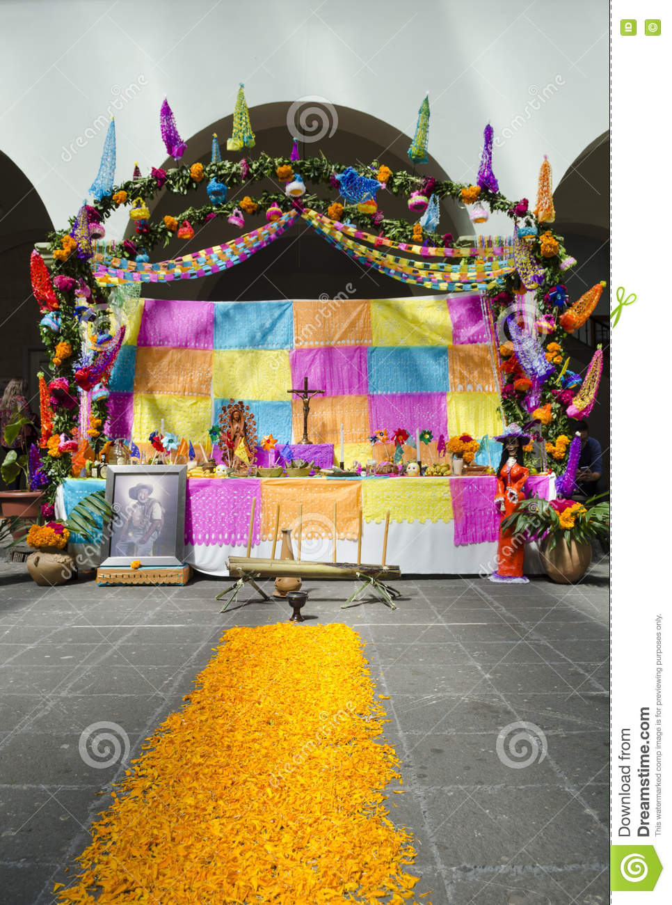 Day Of The Dead Editorial Photo Image Of Tradition Religion 79649601