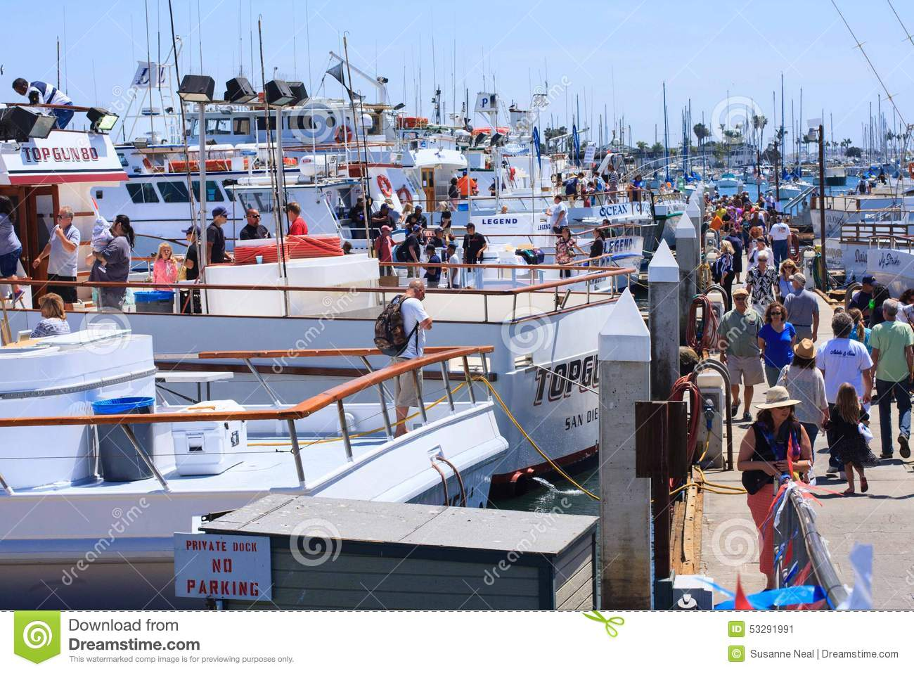 Day at the docks in point loma california 2015 editorial for One day fishing license ca