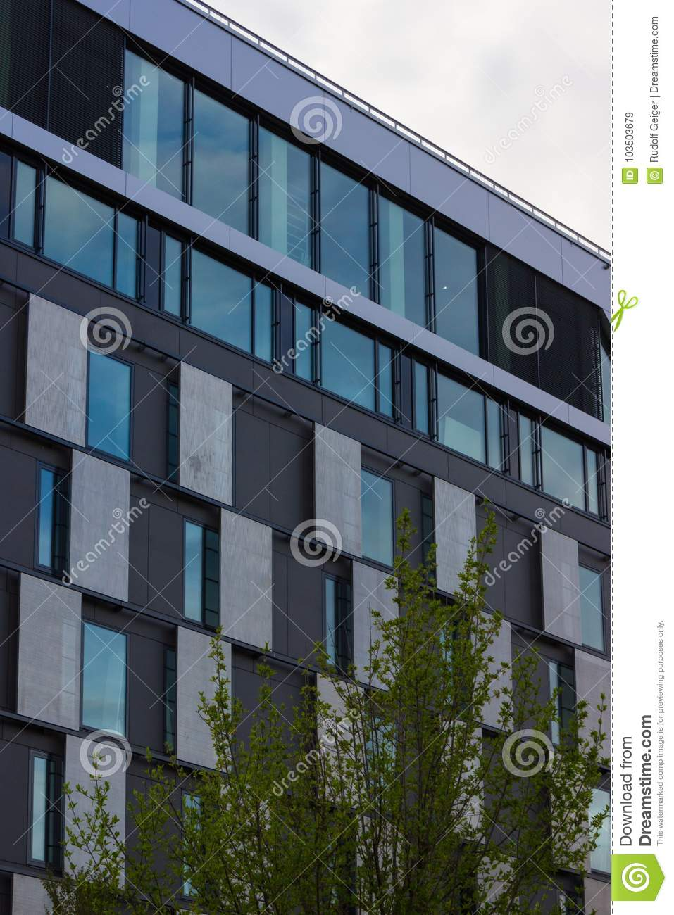 Download Day And Night Series Of Office Facades Stock Image  Of Reflection Urban