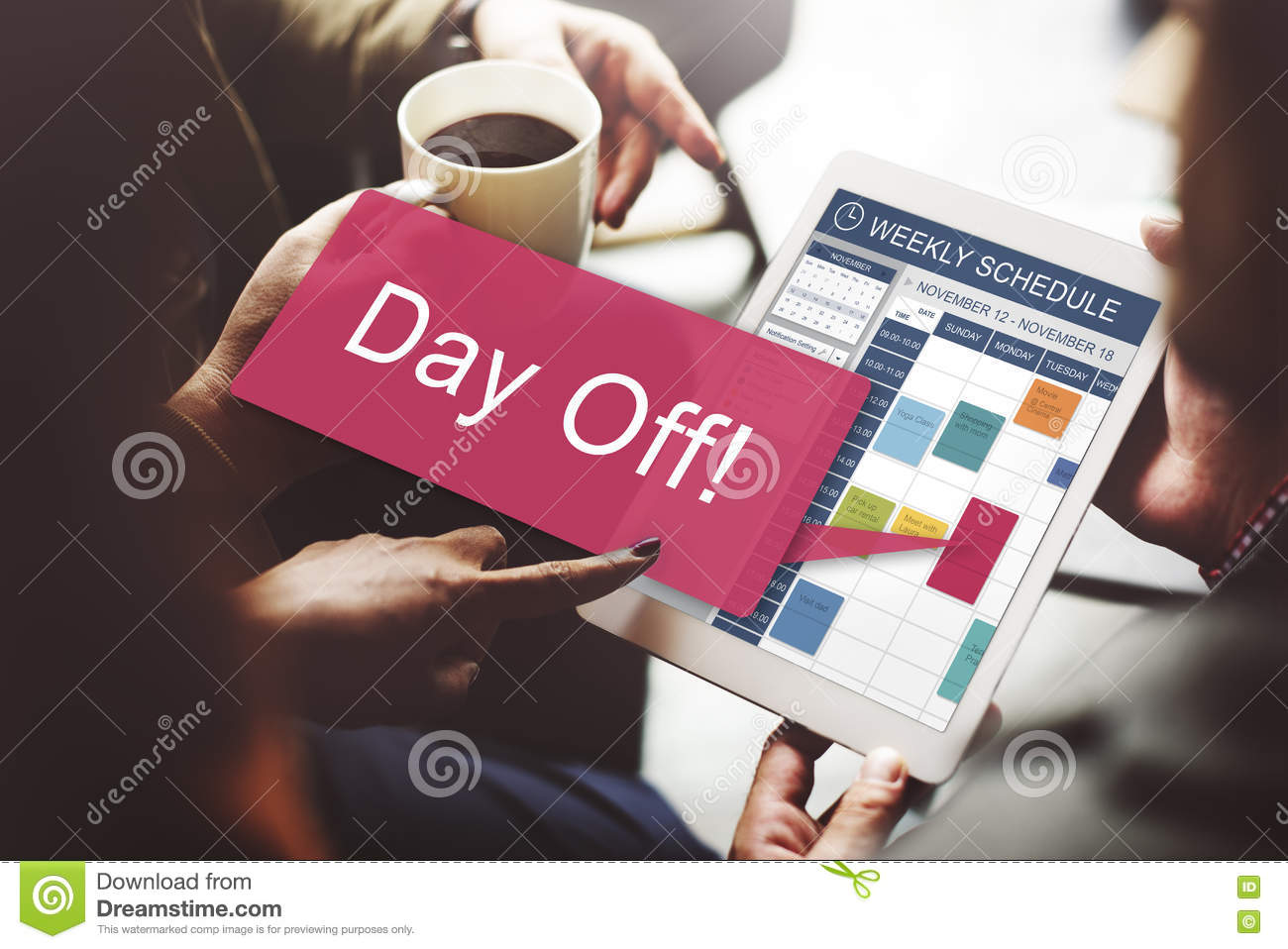 Day Off Vacation Holiday Event Relaxation Concept