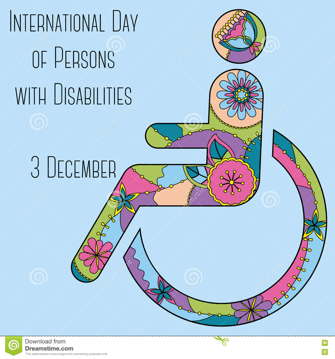 Day of Persons with Disabilities background