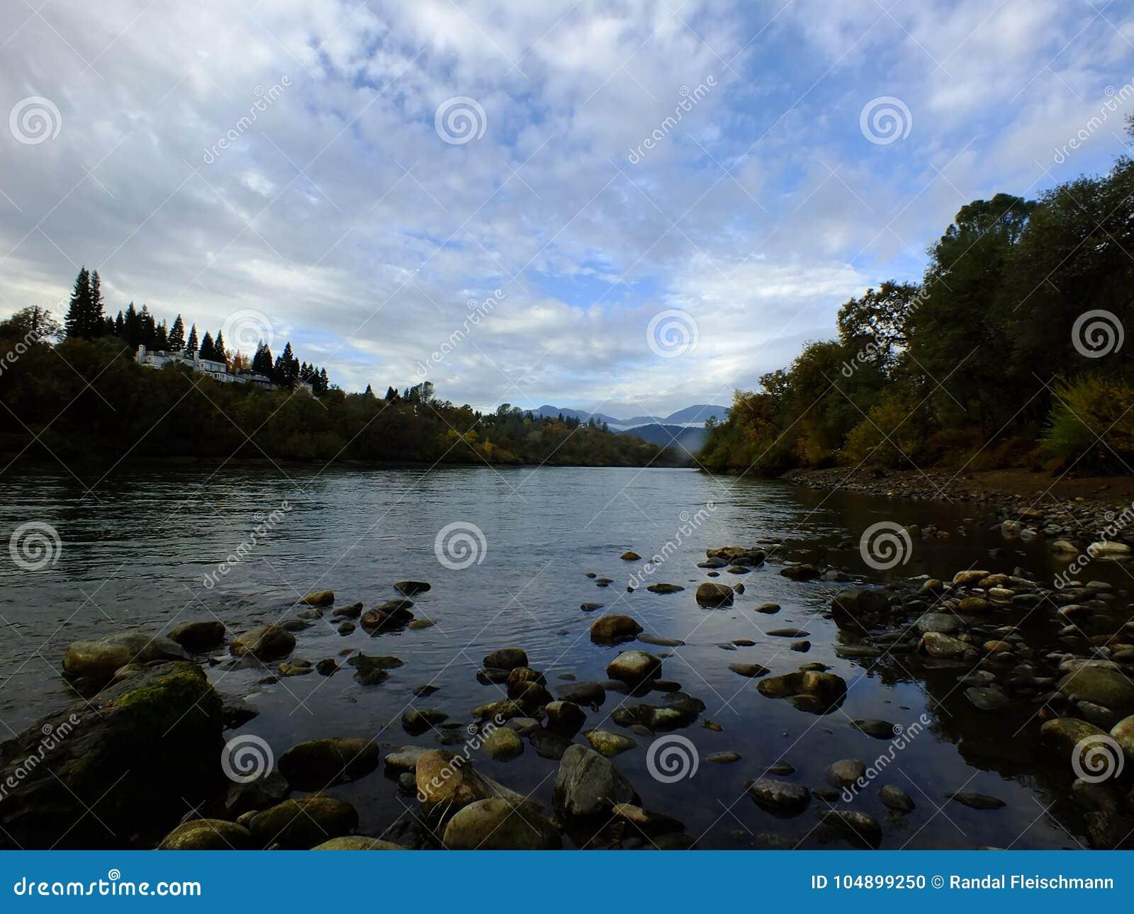A Day On The Sacramento River Stock Photo Image Of Birds Stream