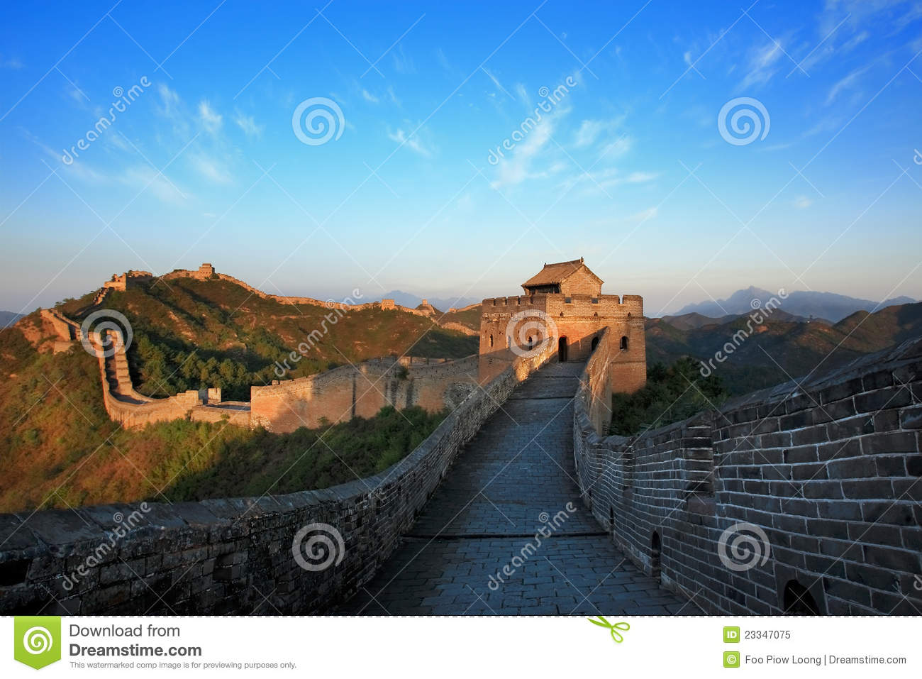 Day view of The Great Wall China