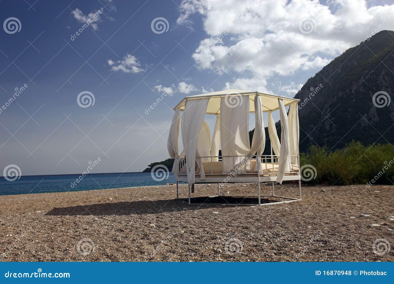 Daybed na praia