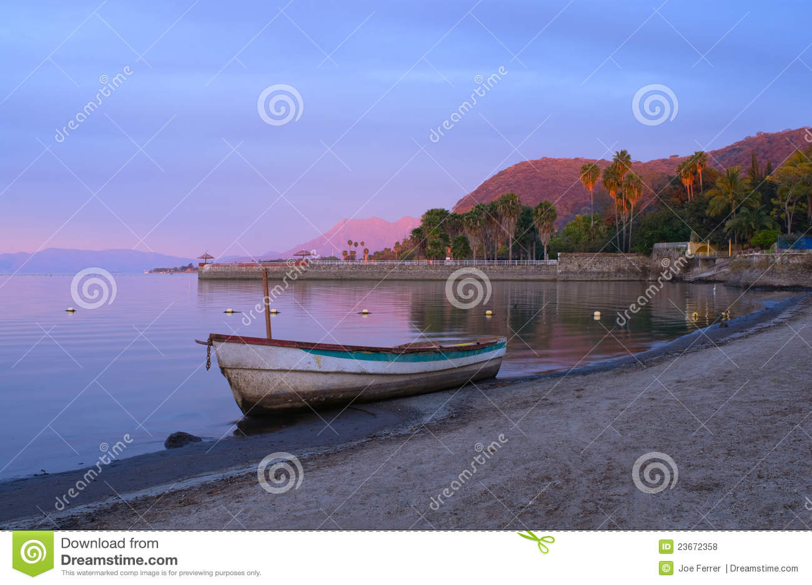 Daybreak on Lake Chapala Shores