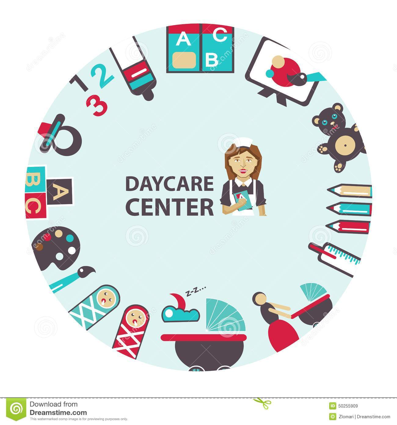 We Normally Sell Two A Day Today We Are Selling Up To 15: Daycare Stock Illustrations