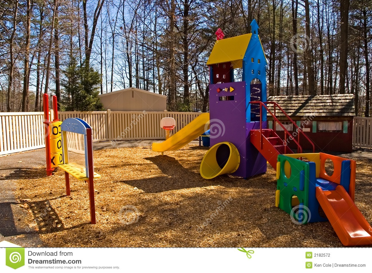 Daycare Playground Equipment Stock Photography Image