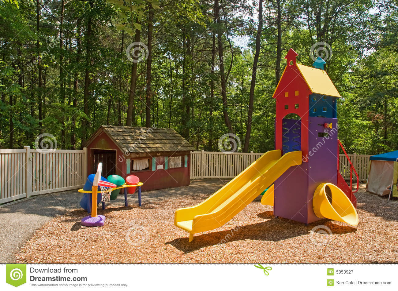 Daycare playground equipment