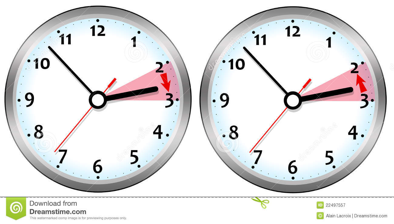 Clipart Daylight Savings Time Clock | Free | Download