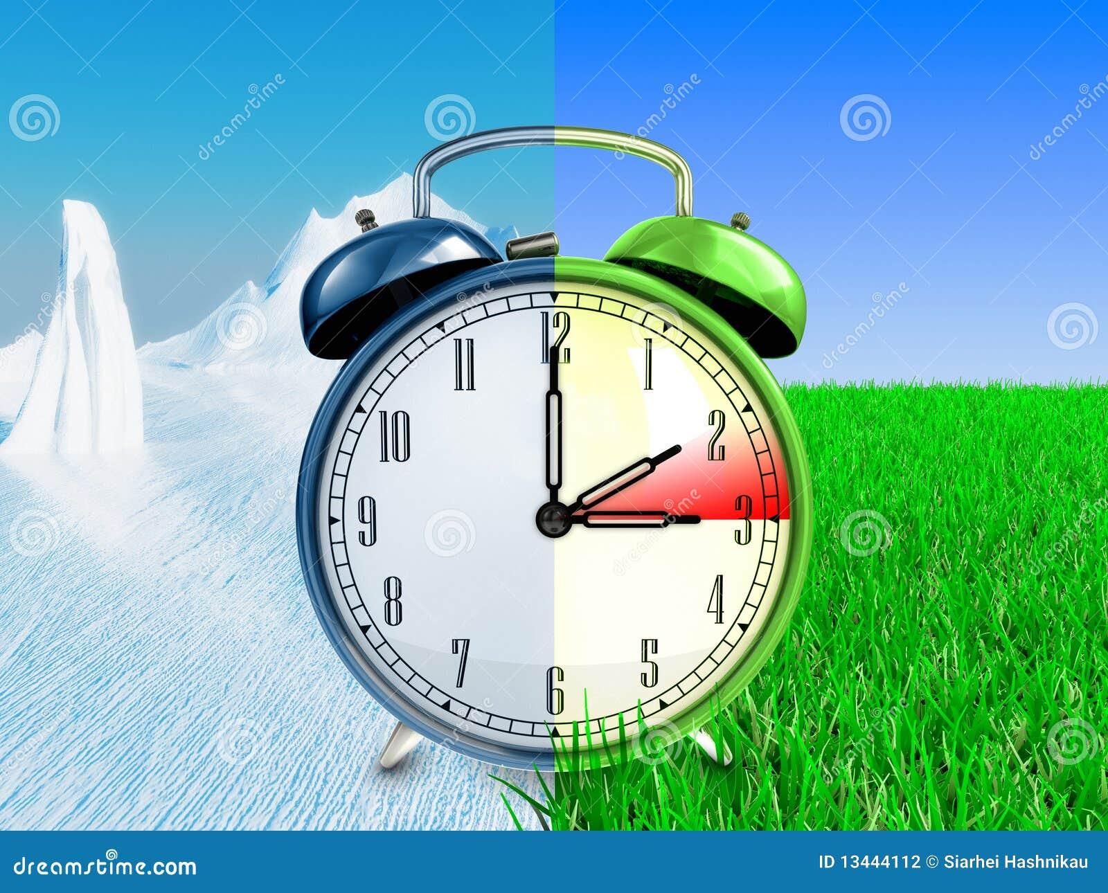 Daylight Saving Time Concept Stock Photography ...
