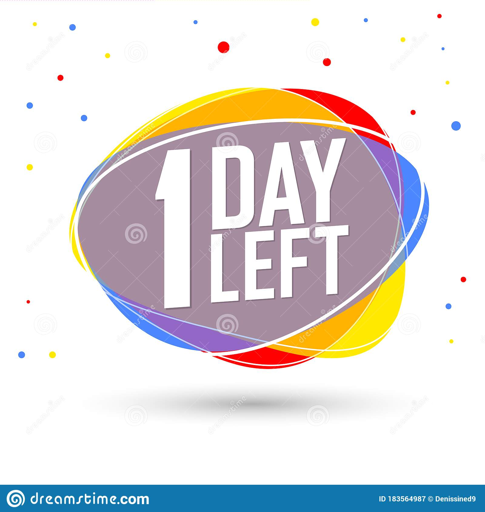 Countdown 1 Tag