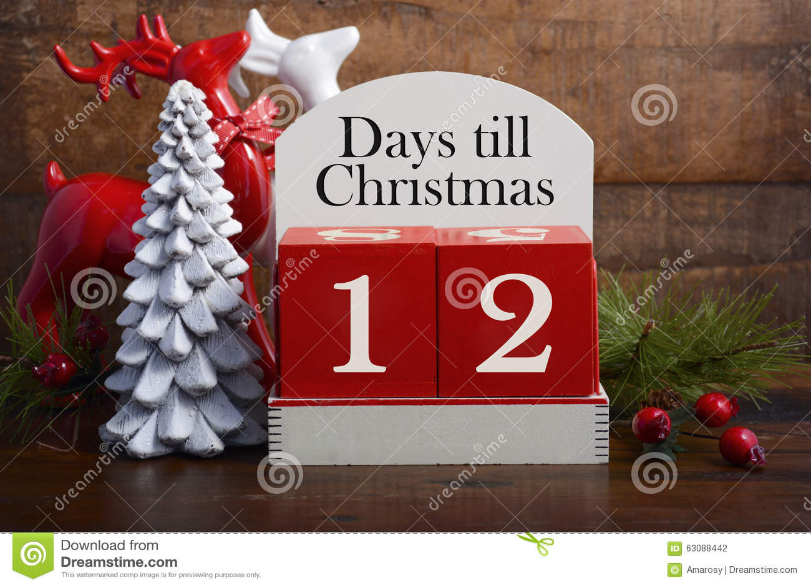 days till christmas calendar - Number Of Days Until Christmas
