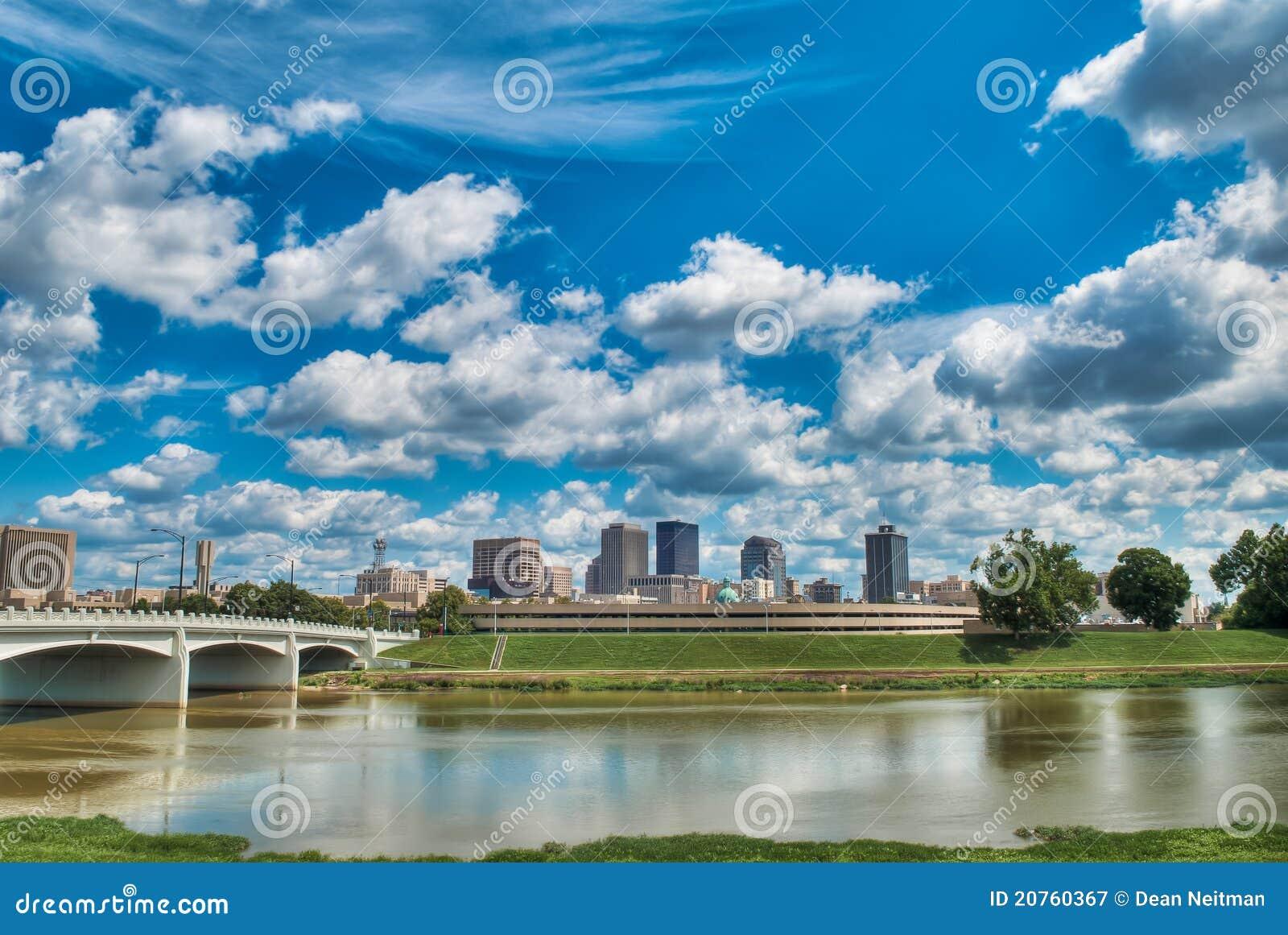 Dayton Ohio Skyline
