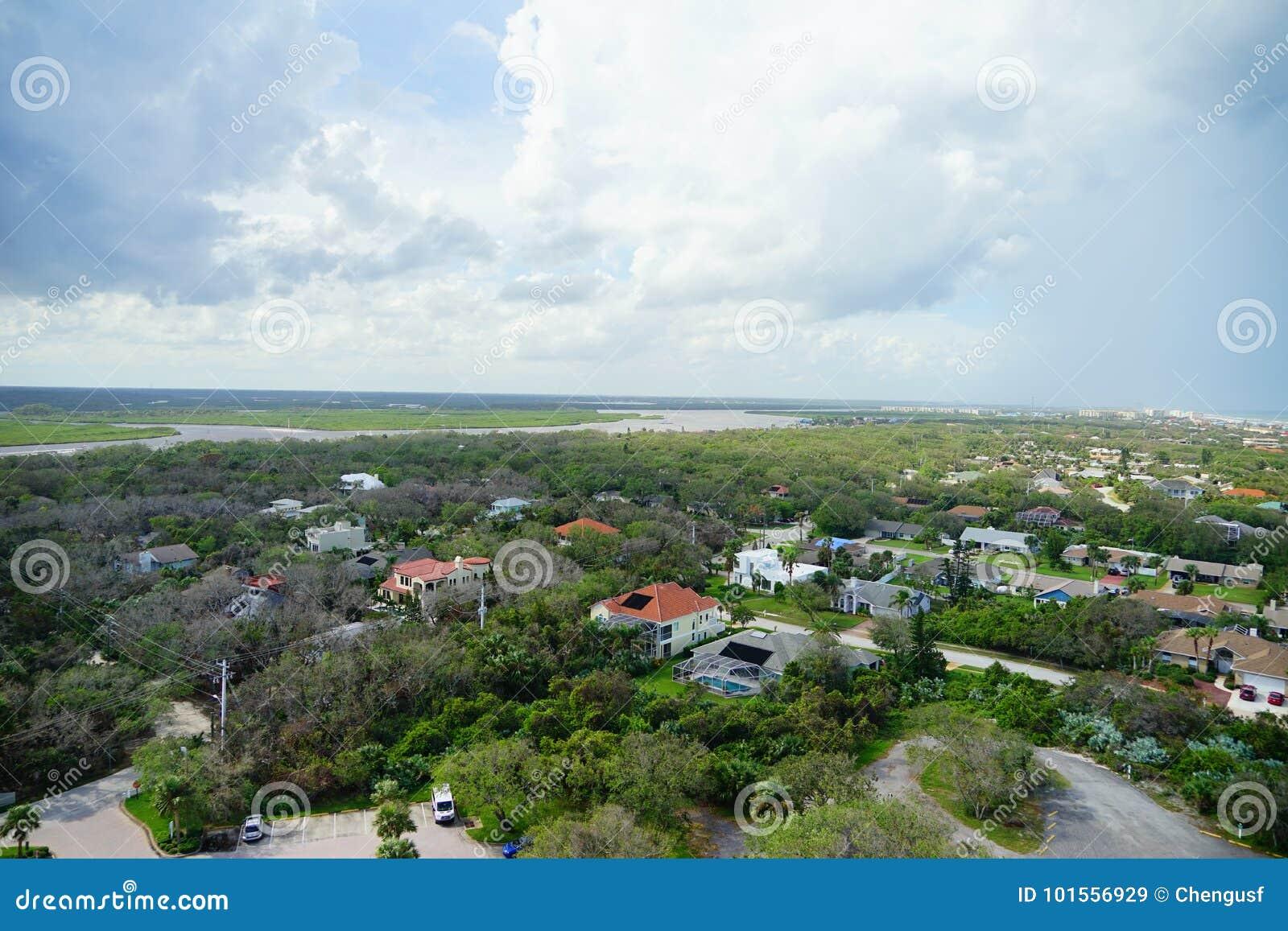 Daytona海滩市视图