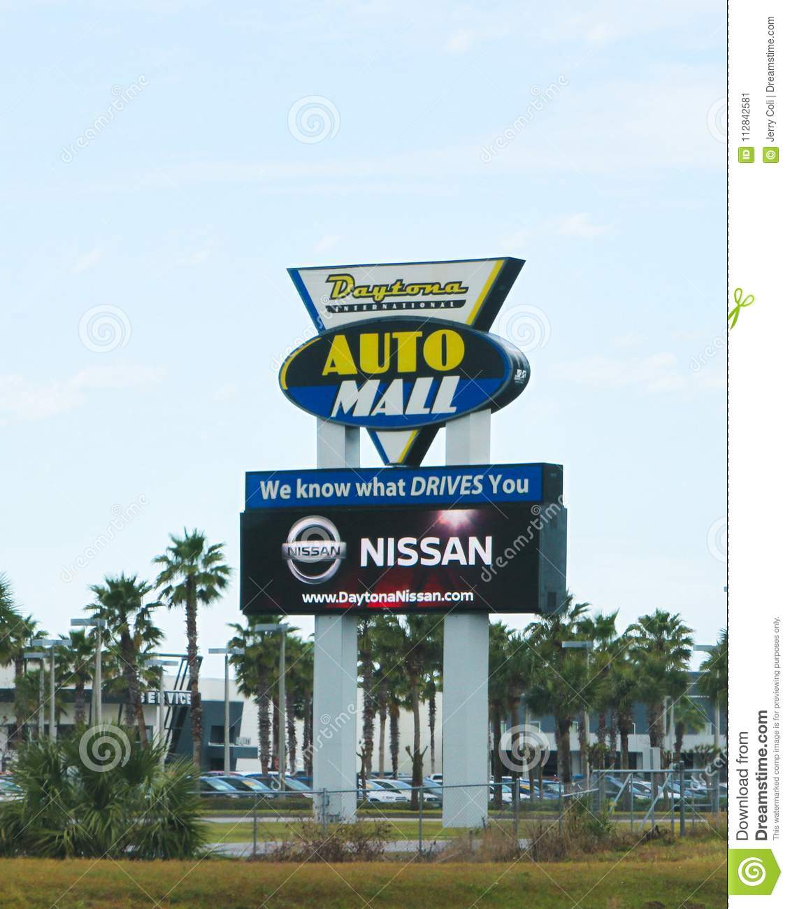 Daytona Auto Mall >> Daytona International Auto Mall Editorial Photo Image Of Auto