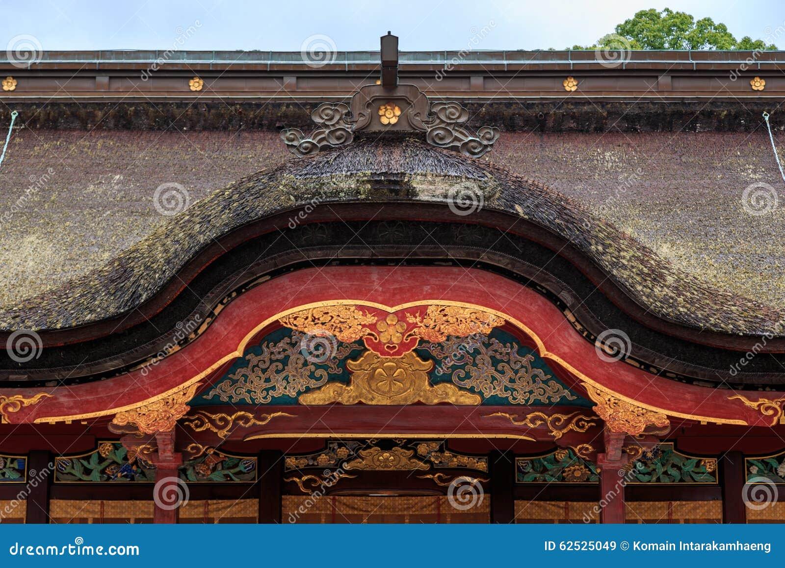 Dazaifu Tenmangu寺庙,日本屋顶