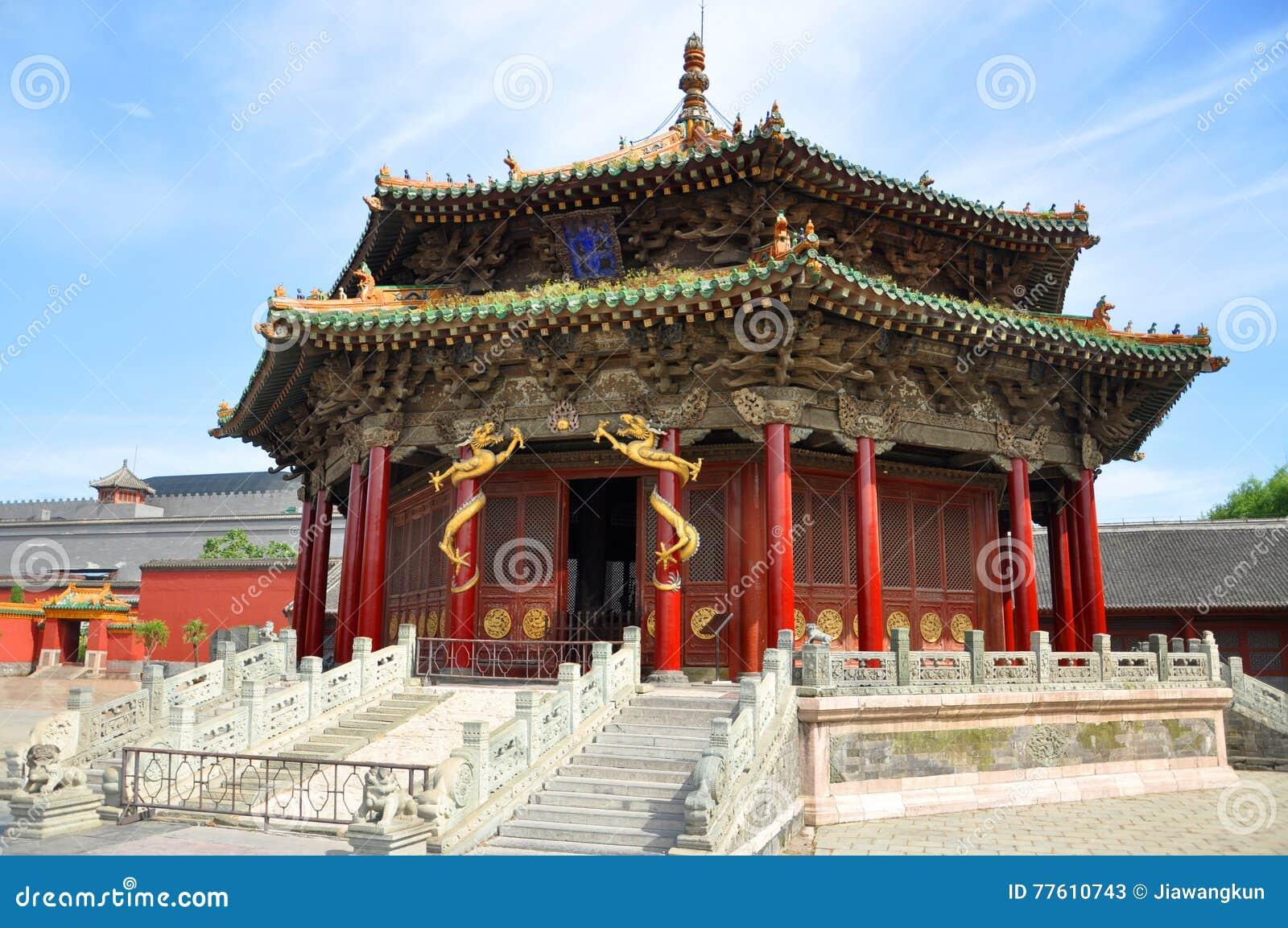 Dazheng Hall, Shenyang-britischer Palast, China