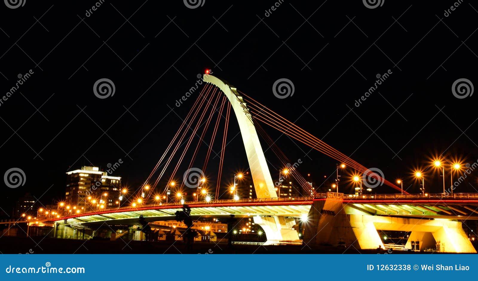 Dazhi Bridge, Taipei, Taiwan Royalty Free Stock Photos