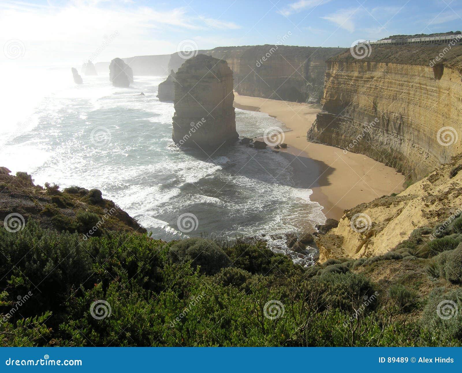 Dazzling coast