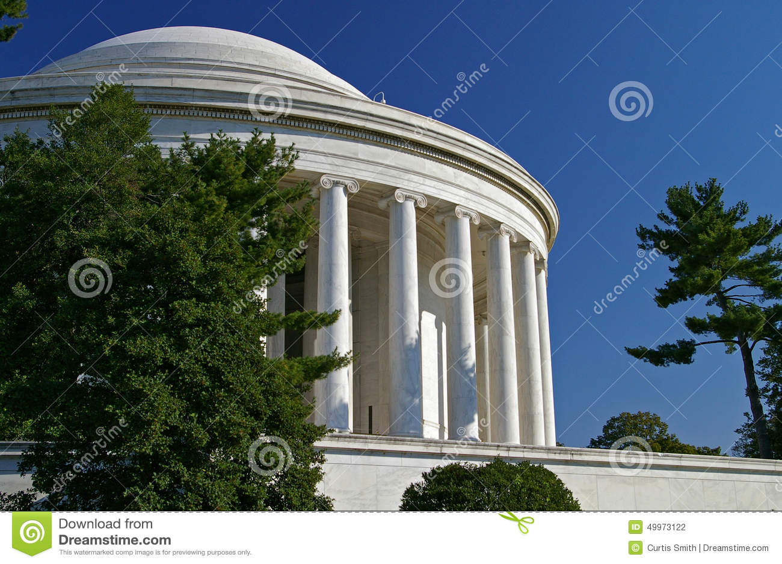 DC Томас Джефферсон мемориальный Вашингтона