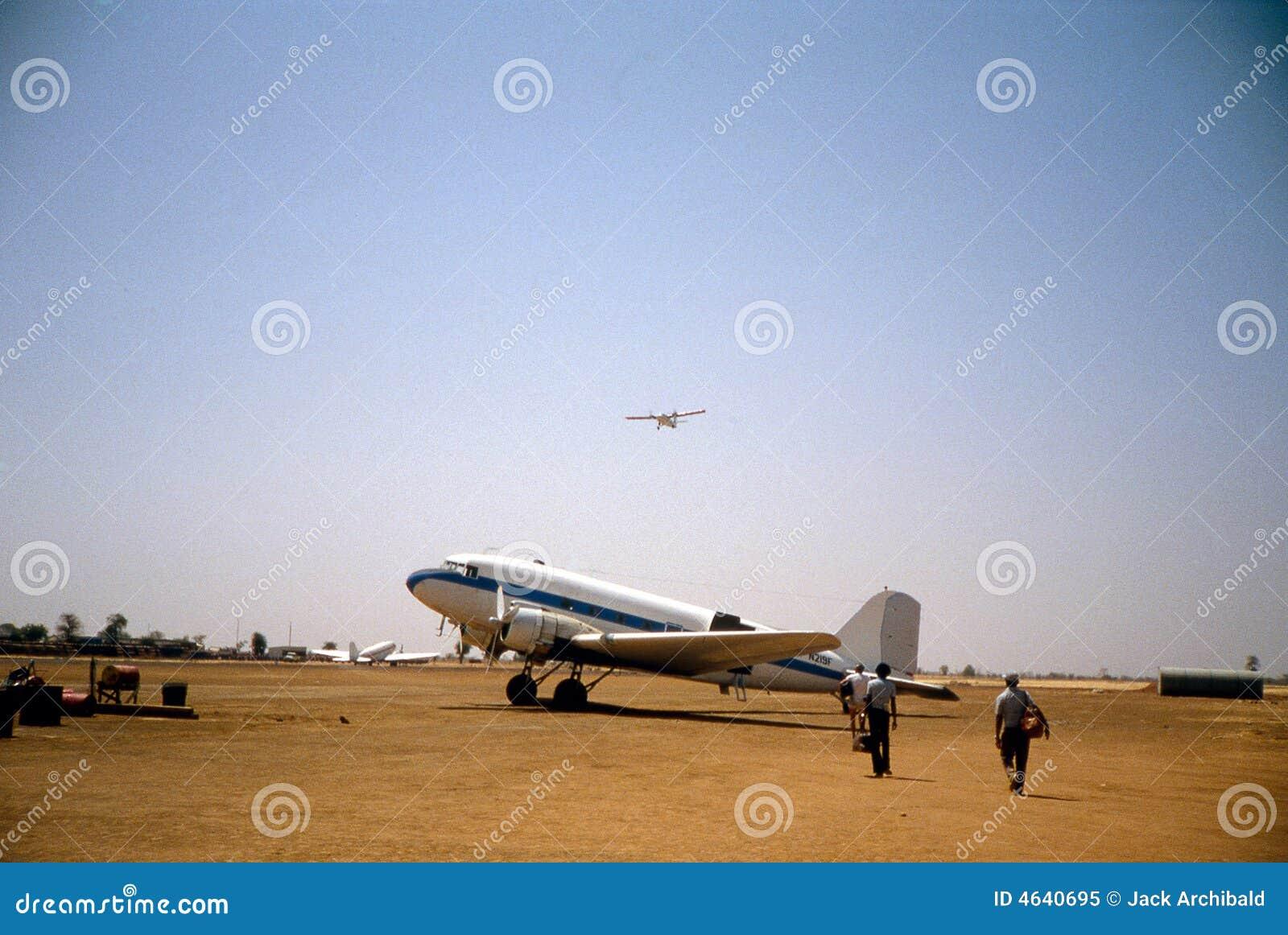DC-3 em Muglad Sudão