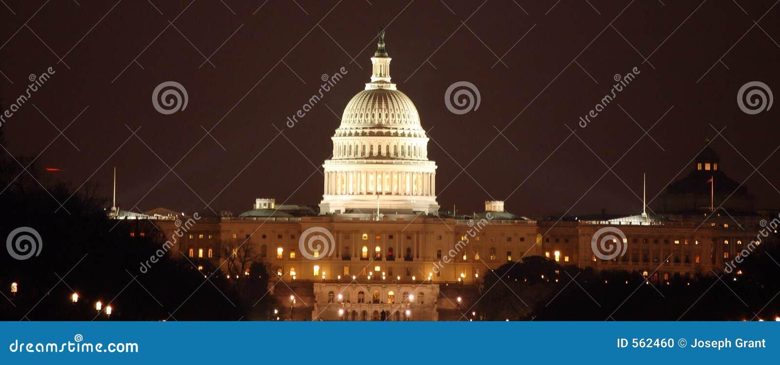 DC Capital at Night