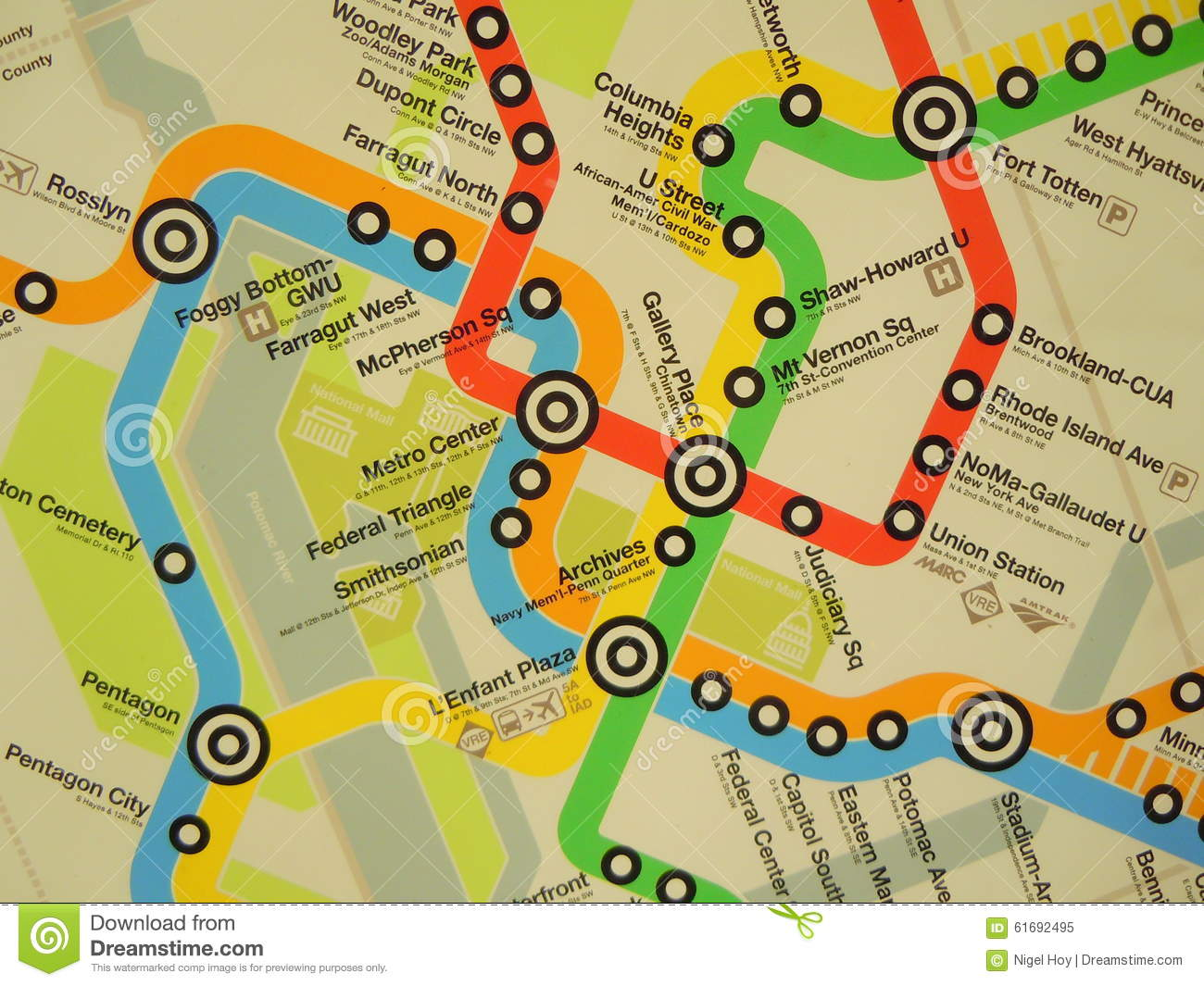 Map Of Metro Routes Editorial Image Image Of Route Lines 61692495