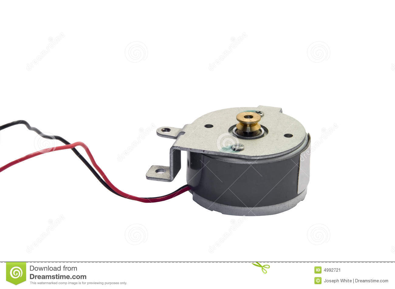 Dc Electric Motor Stock Image Image 4992721