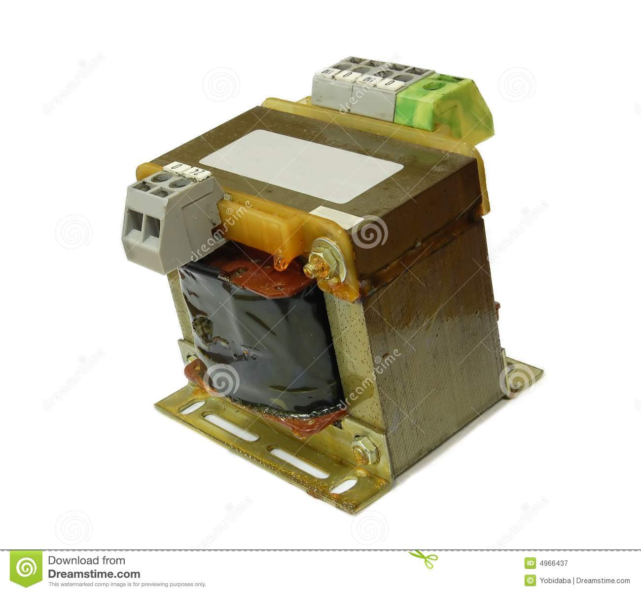 DC To AC Transformer Royalty Free Stock Photography Image 4966437