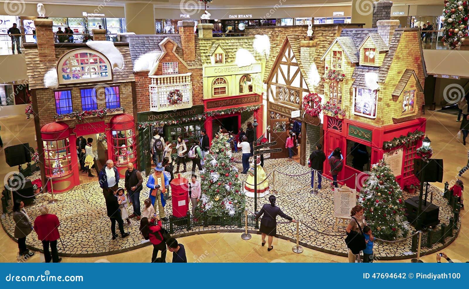 #A9222F Décor Pacifique De Noël De Mail D'endroit Hong Kong  5363 decorations de noel centre commercial 1300x820 px @ aertt.com
