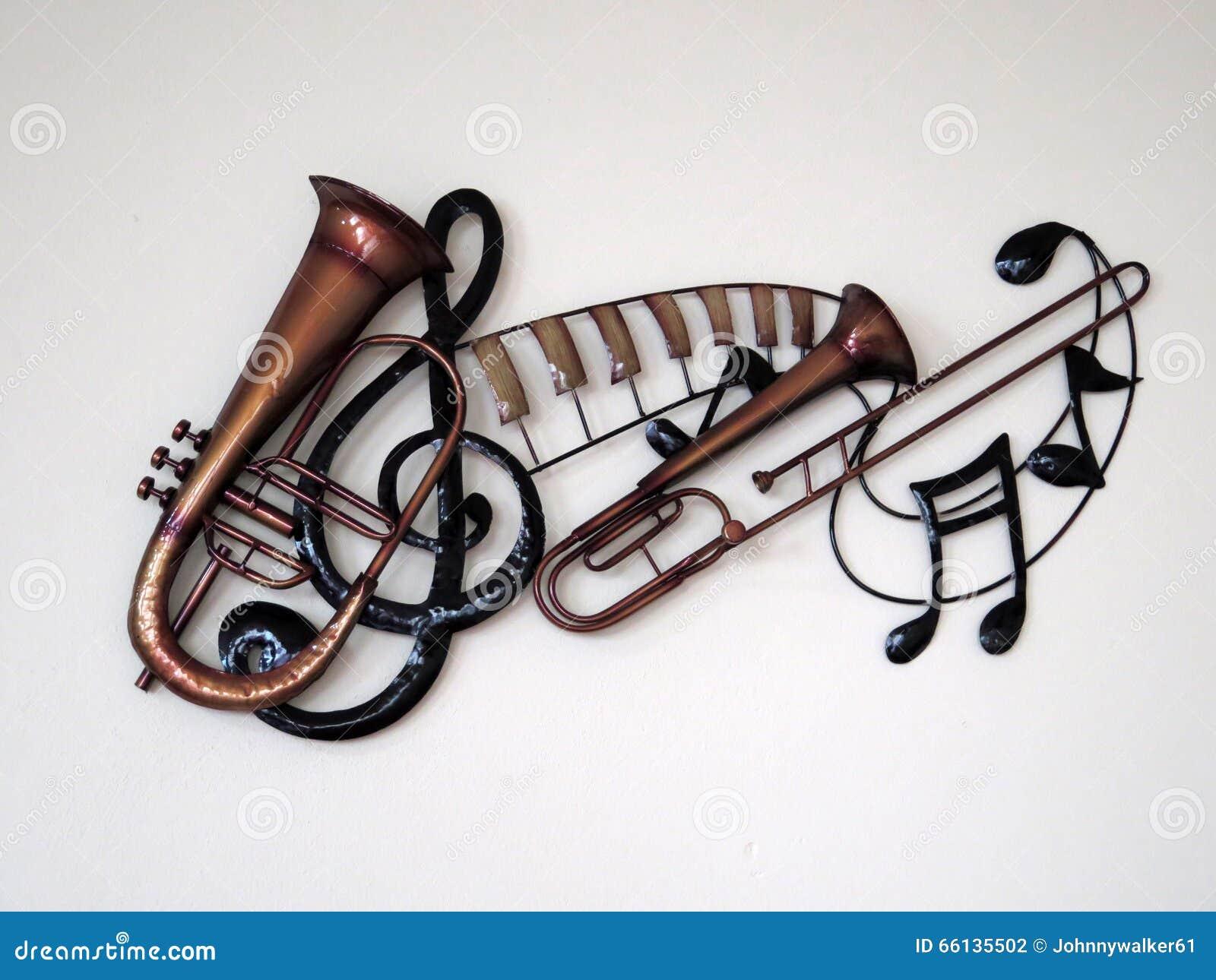 D coration d 39 instrument de musique photo stock image 66135502 - Photo d instrument de musique ...