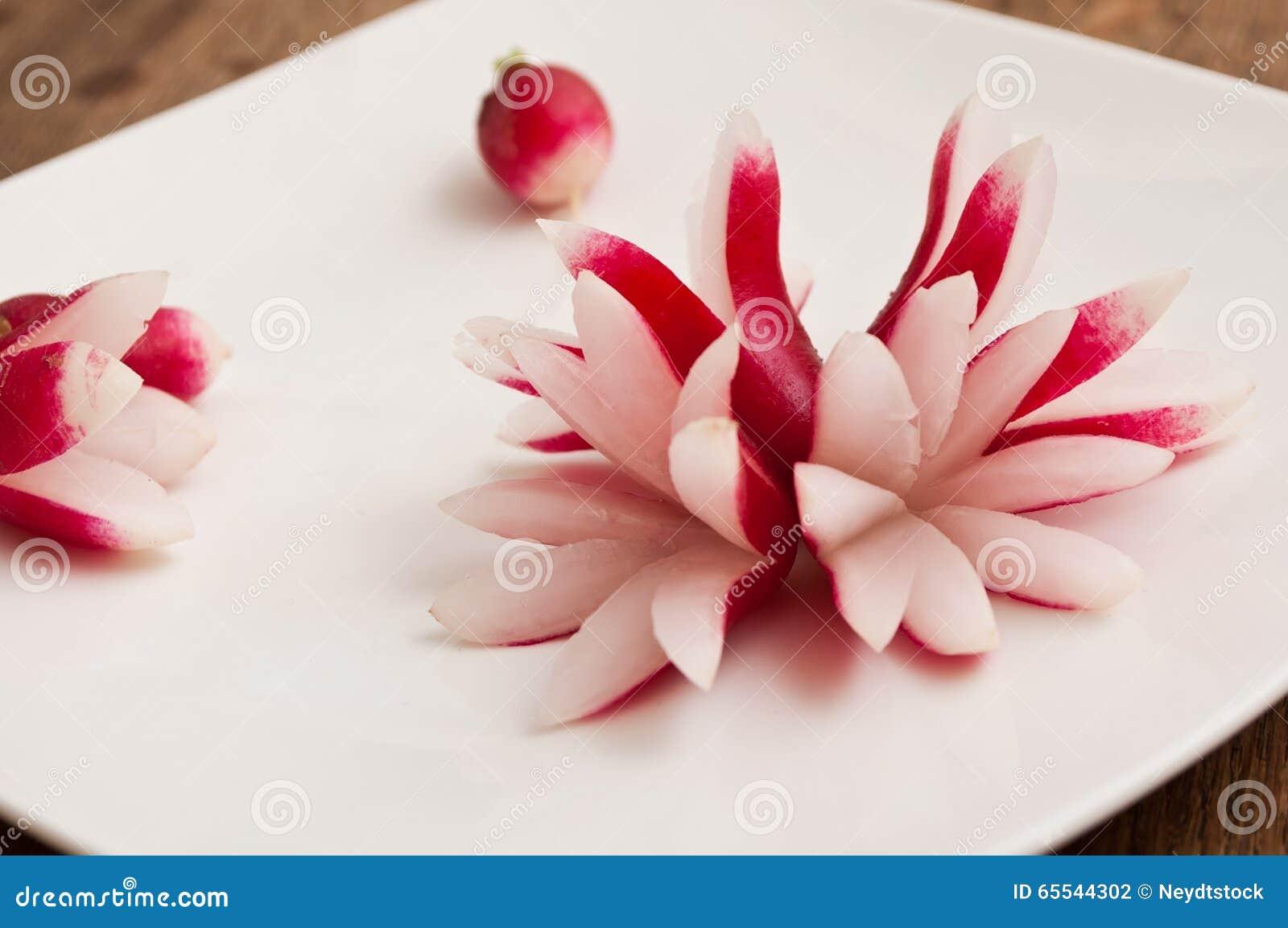Decoration De Table Avec Radis