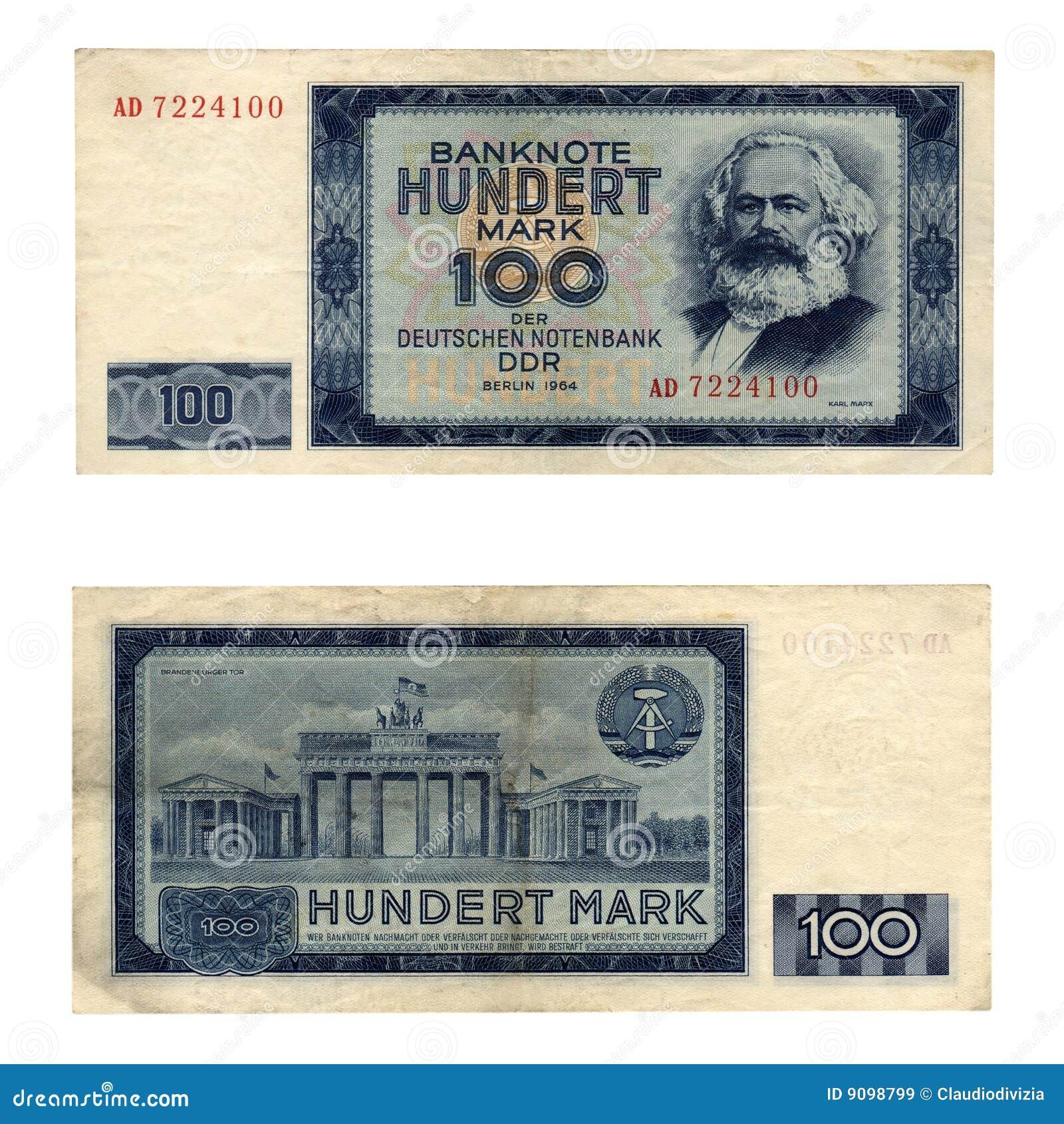 DDR-Banknote