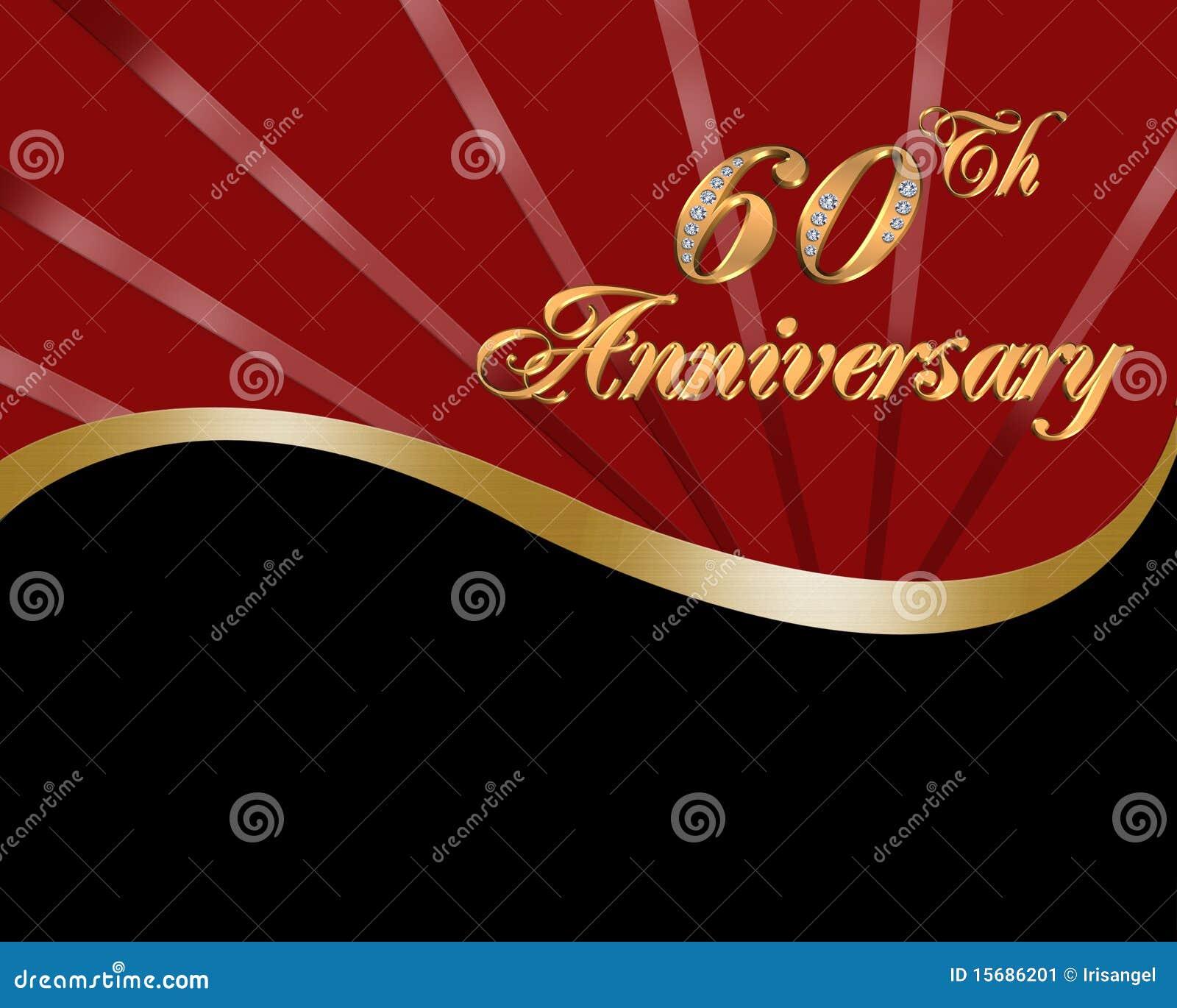 De 60ste Verjaardag Van Het Huwelijk Stock Afbeelding - Afbeelding: 15686201
