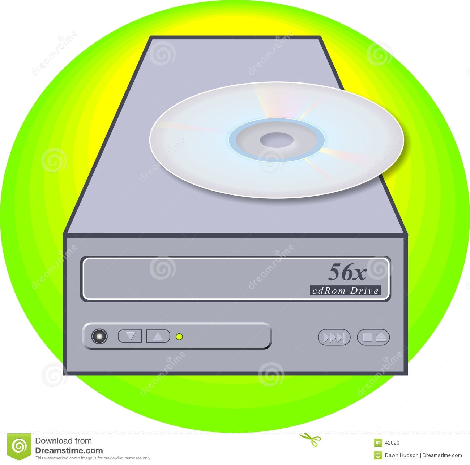 De Aandrijving van CD-rom
