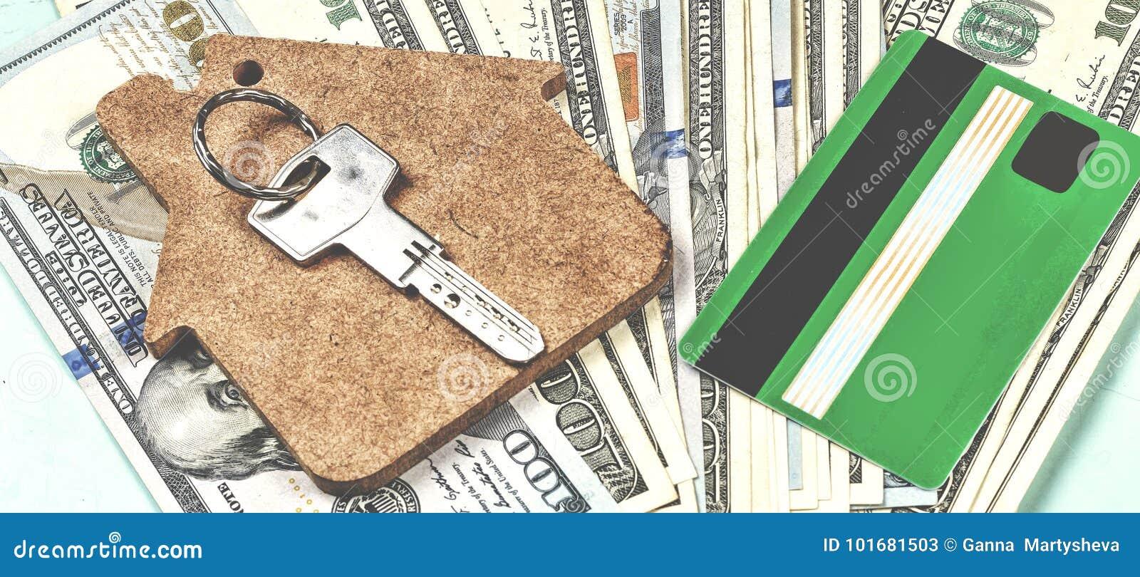 De aankoop van huisvesting op krediet