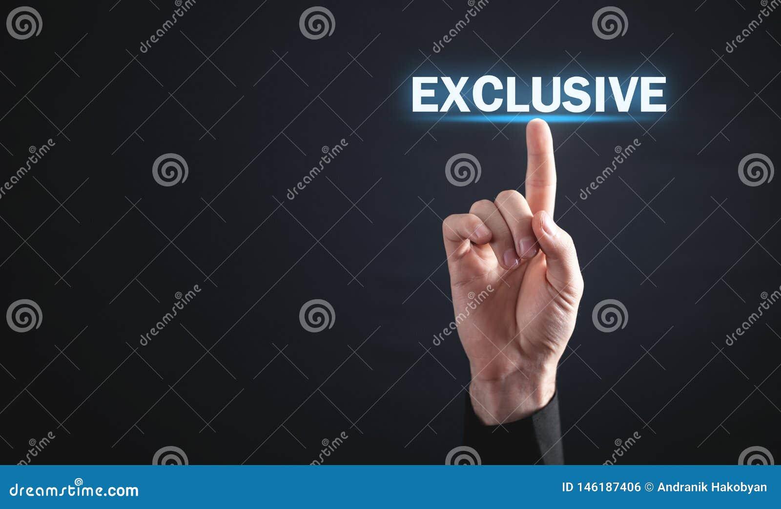 De aanraking van de mensenhand in Exclusief woord