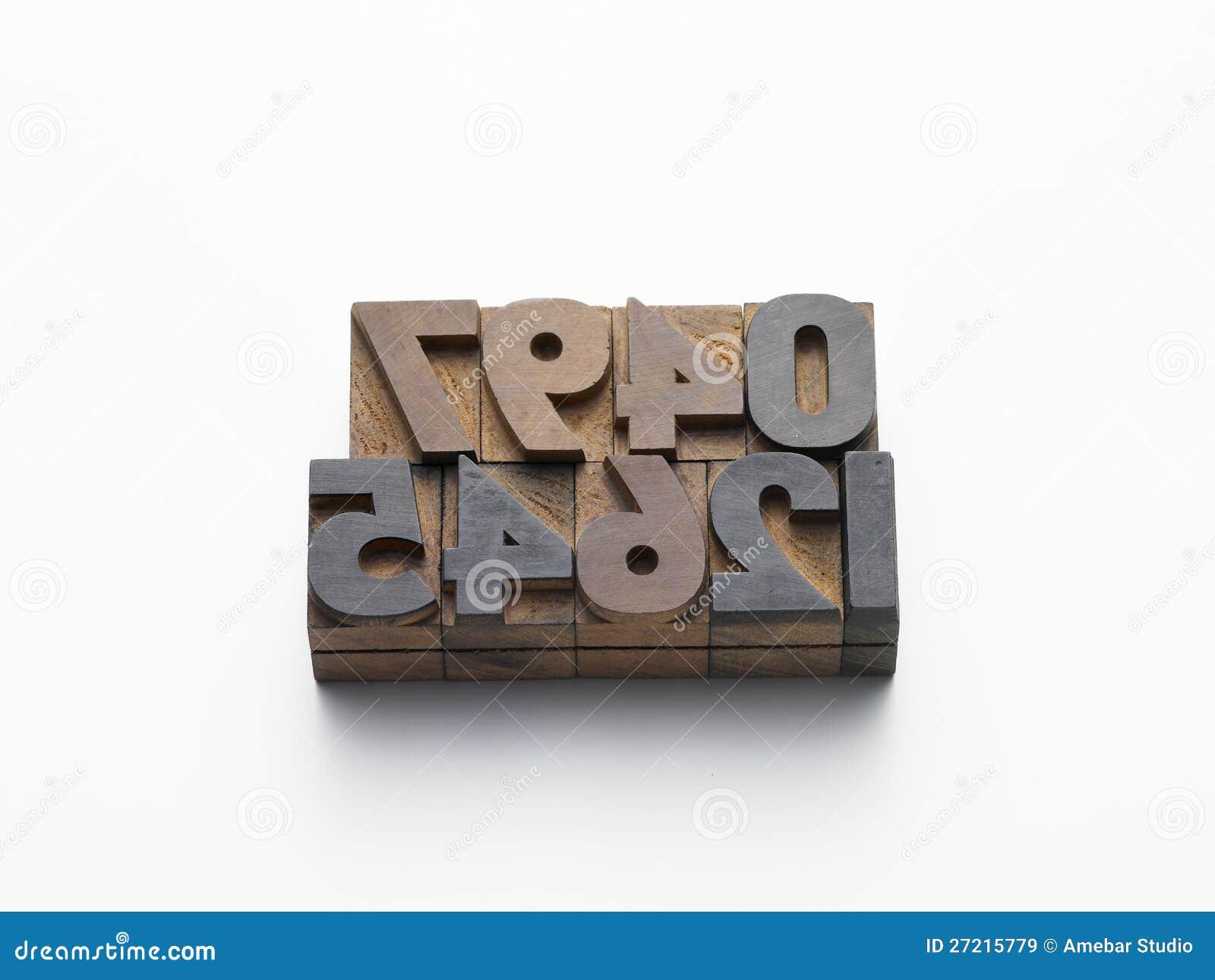 De aantallen van lettersoorten in samenstelling