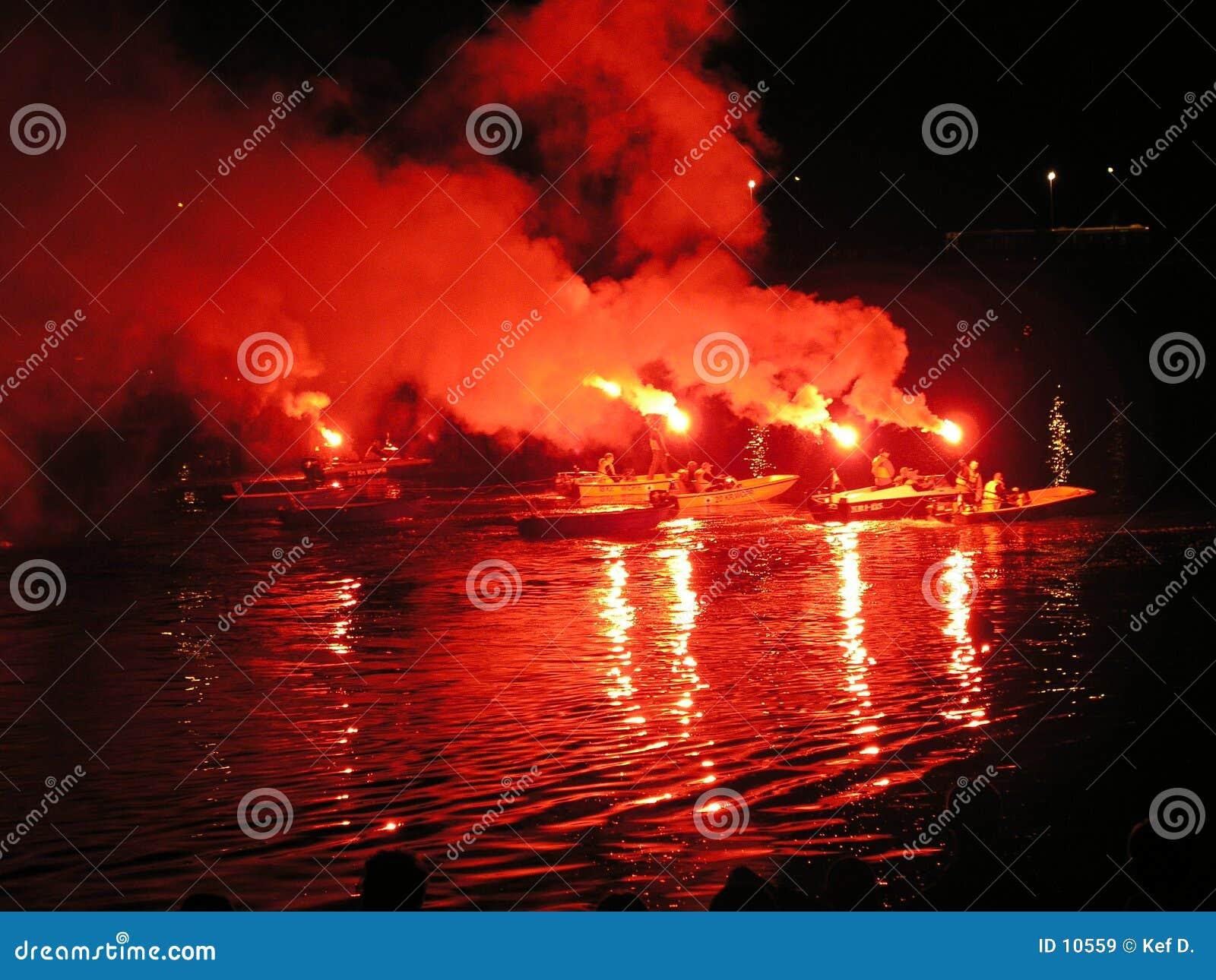 De aanzetexpeditie van de brand