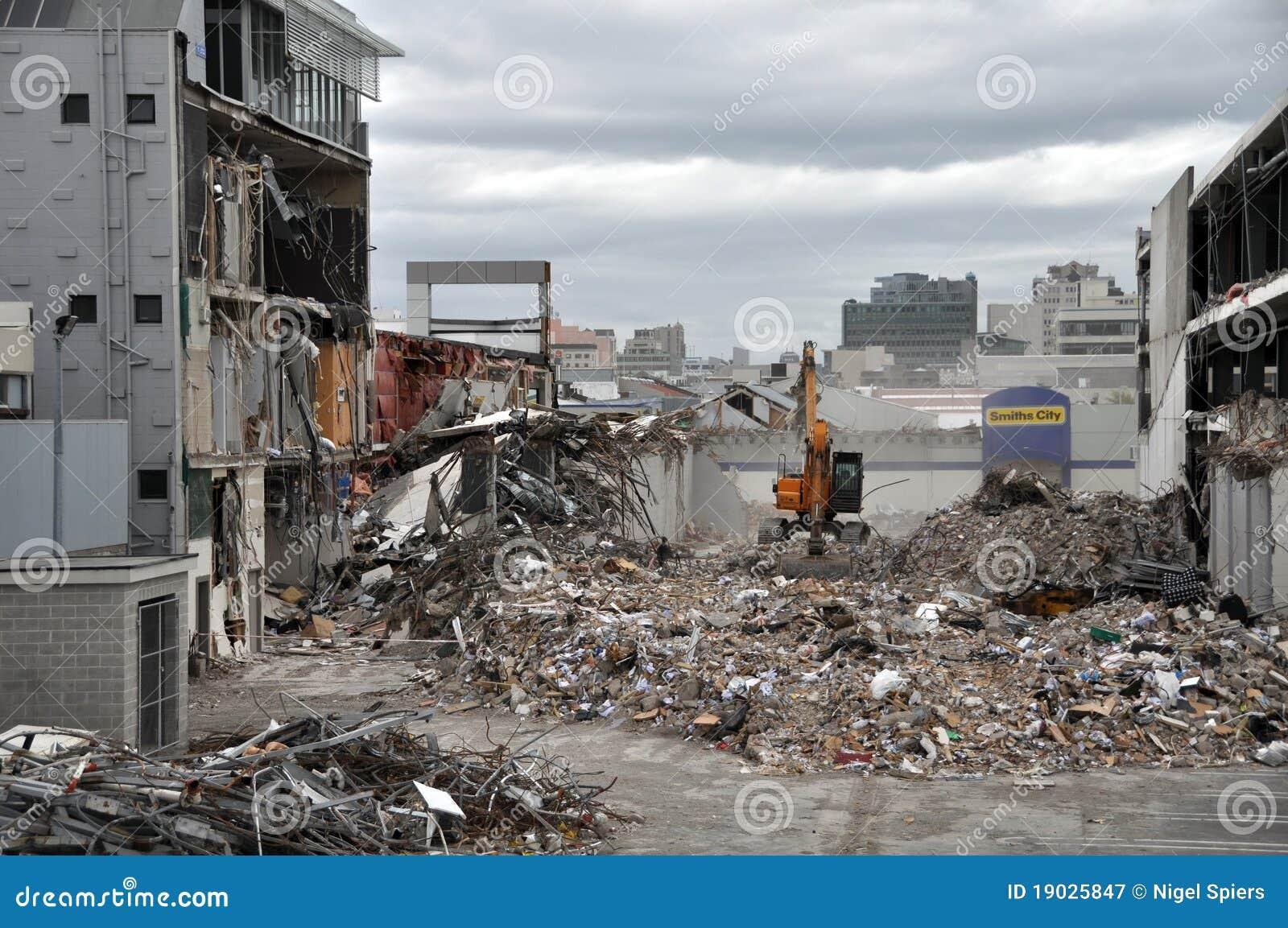 De Aardbeving van Christchurch - Zuidelijke Vernietigde CBD